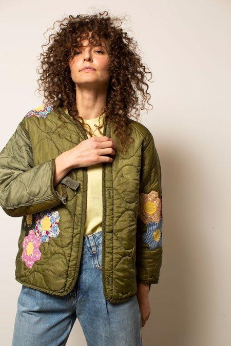 Vintage Quilt Patchwork Liner Jacket