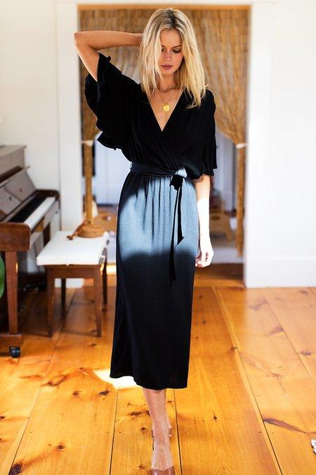 Emerson Fry Lila Dress - Black Crepe