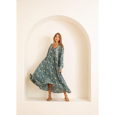 Natalie Martin Fiore Maxi W/ Sash - Silhouette Shallows