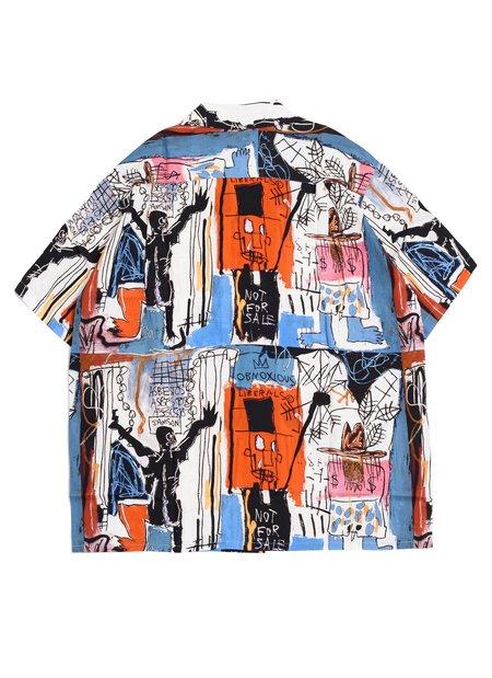 WACKO MARIA GUILTY PARTIES Jean-Michel Basquiat S/S Hawaiian Shirt Type-3 - Multi
