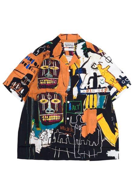 WACKO MARIA-GUILTY PARTIES Jean-Michel Basquiat S/S Hawaiian Shirt Type-4 - Multi
