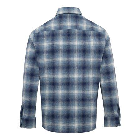 APC Trek Recycled Cotton Overshirt - Blue