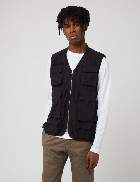 Edwin Tactical Ripstop Vest - Black