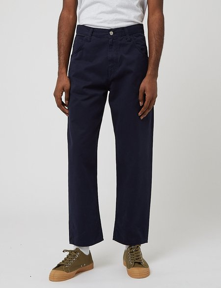 Edwin Tyrell Relaxed Pant - Navy Blue