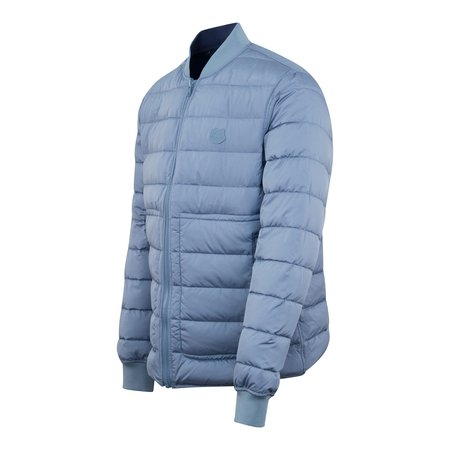 Kenzo Light Weight Packable Tiger Reversible Jacket - Blue