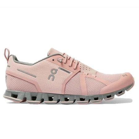 ON Running Cloud Waterproof Sneakers - Rose/Lunar