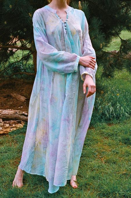 Natalie Martin Fiore Maxi Dress - Rainbow Cloud