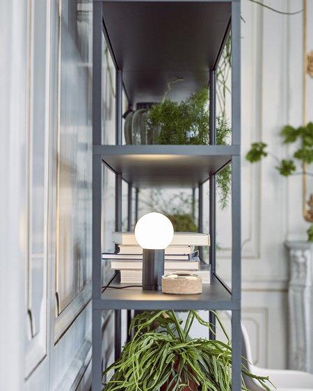 Hay Turn On Lamp - Black