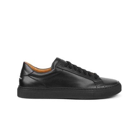 Unseen Footwear Helier Tonal Leather sneakers - Black