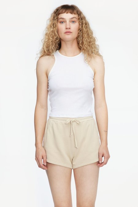 Lacausa Zephyr Shorts - Toast