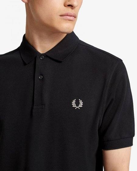 Fred Perry M6000 Short Sleeve Polo - Black