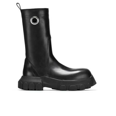 Rick Owens Creeper Bozo Tractor Boots - Black