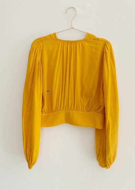 OhSevenDays  FAULTY Lola Blouse - yellow
