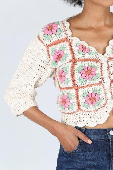 Tach Nuria Crochet Cardigan