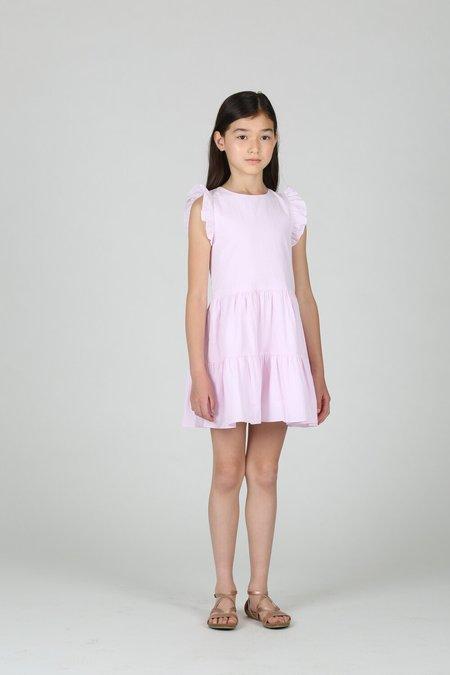 kids Little Olin Ruffle Dress - Pink