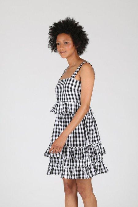 Tach Clothing Amaral Dress - Black Gingham