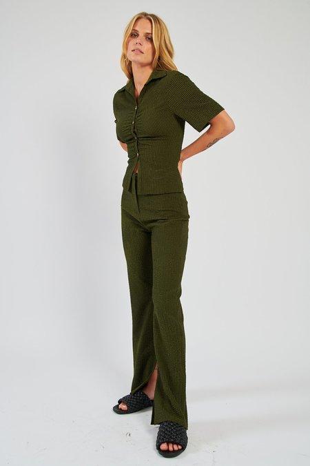 Nanushka Tabbie Pant - Khaki