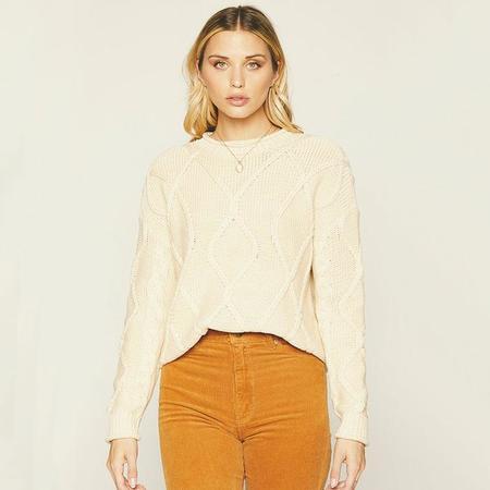 Knot Sisters Zella Sweater - Cream