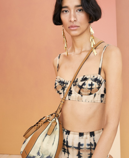 Ulla Johnson Zahara Bikini Top - Desert Palm Tie Dye
