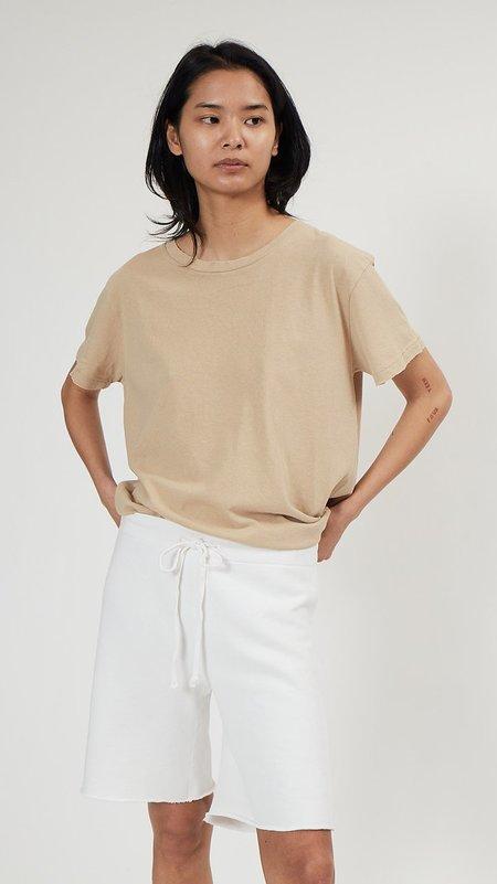 Nili Lotan Austin Sweatshort - Vintage White