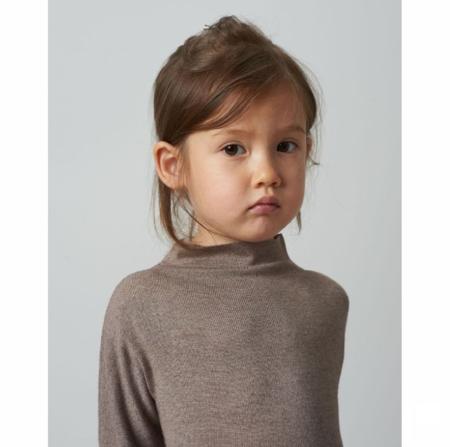KIDS Belle Enfant Funnel Neck Dress