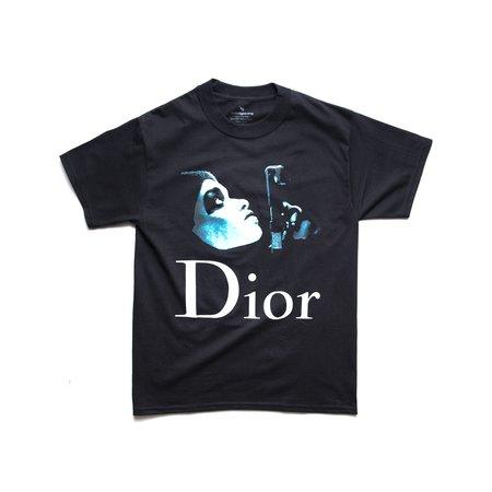 Whiite Lightning Dior Presidents Tee - black