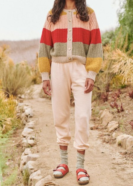 The Great. Sophomore Cardigan - Stripe