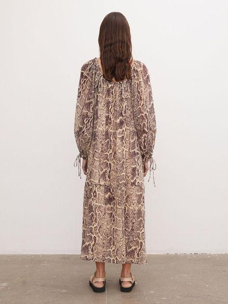 By Malene Birger Elliottia Dress - Wood
