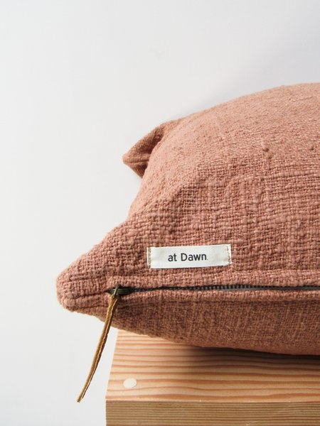 Herb Dyed Pillow Case - Dusty Pink