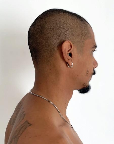 Varon Single Aro Earring - Sterling Silver