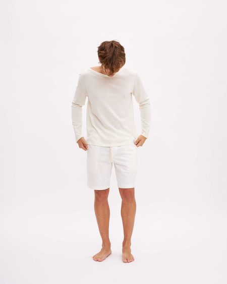 Titta Cotton T-shirt -  Milk