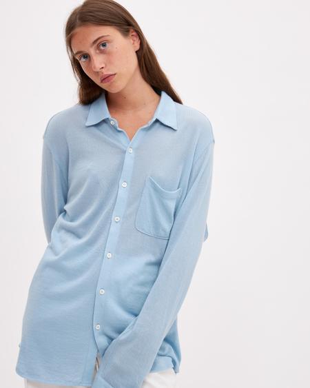 Bellariva Merinos Shirt - Light Blue