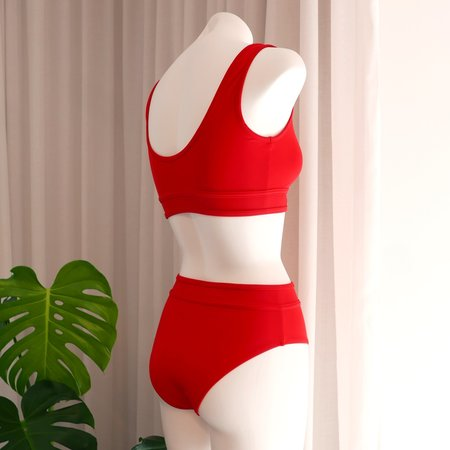 DENiZERi Ege Bikini Bottom - Redcoat