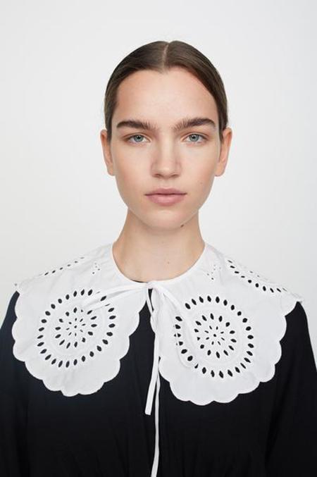 Just Female Col Rise - Blanc