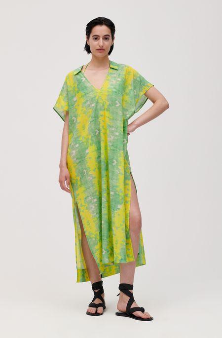 Ganni Kaftan - Green