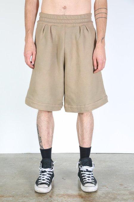 Sebastien Ami Boxing Shorts - Khaki