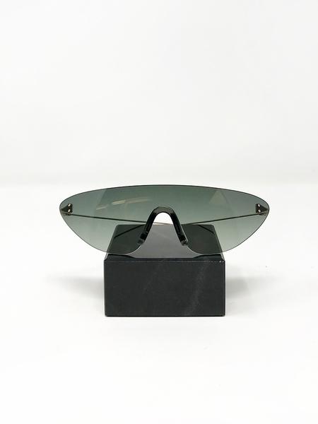 Unisex Kaleos Wells 3 Sunglasses - Green Lens with Titanium Arms