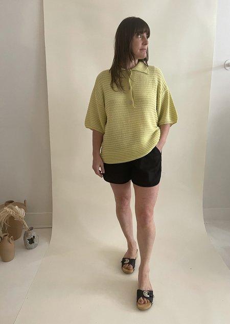 Beaton Linen Running Shorts - Black