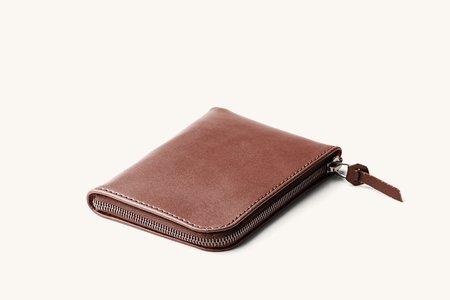 Tanner Goods Universal Zip Wallet - Cognac