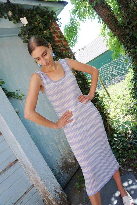 RUS SUISEN DRESS - PALE BLUE