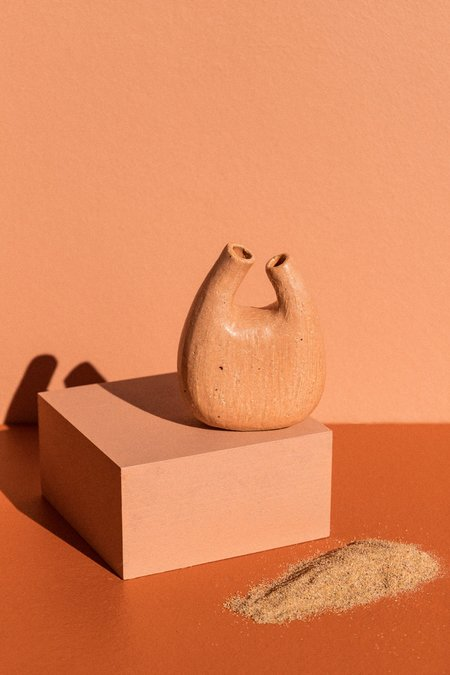 Deborah Sweeney Hand-built #20 Vessel - Peach