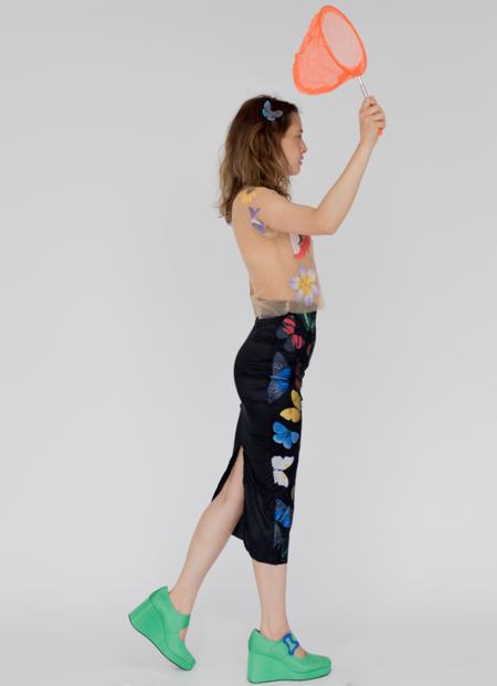 Tyler McGillivary Elsa Short Sleeve Top - Prints