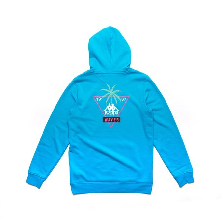 Kappa Authentic Oracabessa Hoodie SWEATER - BLUE