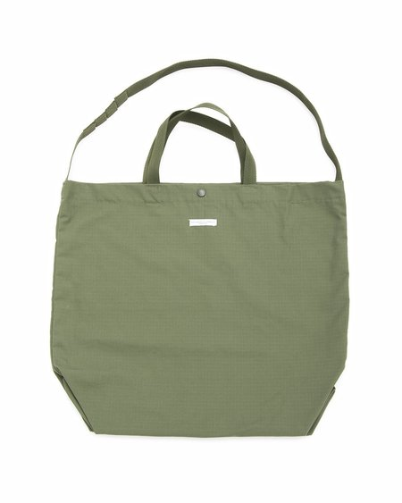 Engineered Garments Cotton Ripstop Carry All Tote - Olive