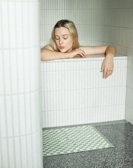 Baina  Beppu Bath Mat - Sage