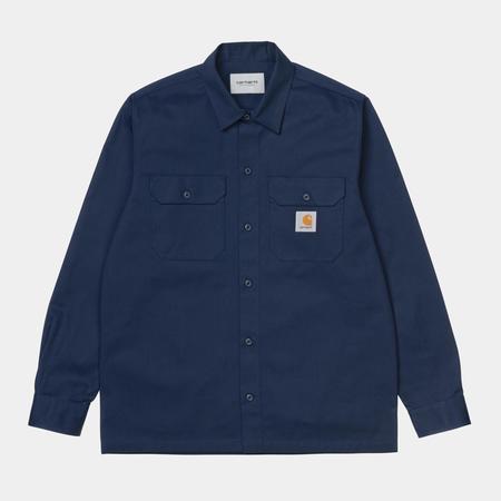 CARHARTT WIP L/S Master Shirt - Space