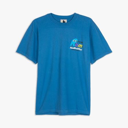 Real Bad Man Never Not Open T-shirt - Blue