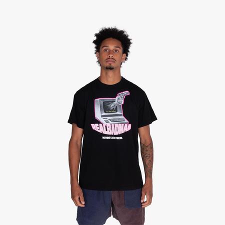 Real Bad Man Play More Ginuwine T-shirt - Black