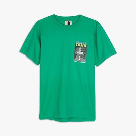 Real Bad Man Strange Sounds T-shirt - Green