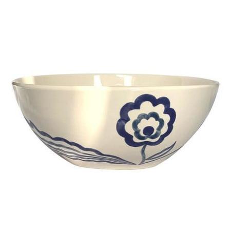 Gunia project Ceramic salad Bowl - indigo